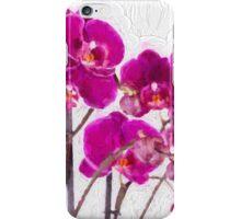 Purple Orchids iPhone Case/Skin