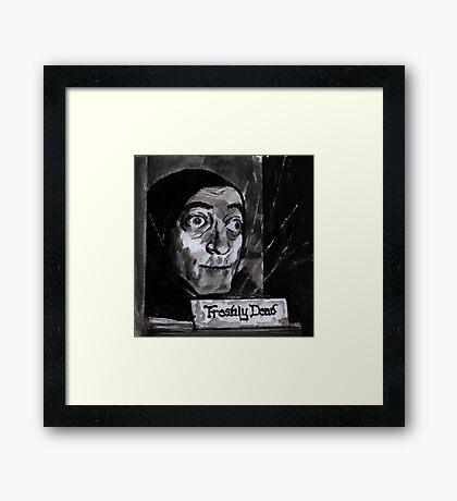 Marty Feldman's Igor Young Frankenstein Tribute  Framed Print