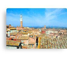 Siena Roofs Metal Print
