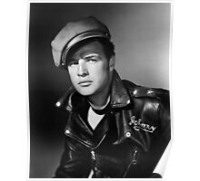 Marlon Brando the Wild One 1953 Poster