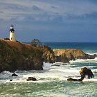 Yaquina Head Lighthouse by James Eddy