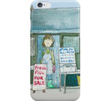 Suffolk Fish Seller's Shack  iPhone Case/Skin