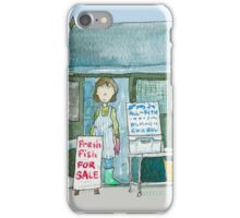 Suffolk Fish Seller's Shack  iPhone Case/Skin