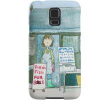Suffolk Fish Seller's Shack  Samsung Galaxy Case/Skin