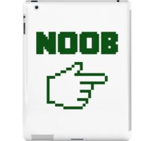 I'm With The Noob Newbie iPad Case/Skin