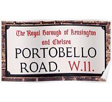 Portobello Road Poster