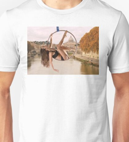 Acrobatics over Rome Unisex T-Shirt