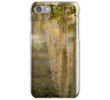 Spanish Moss Sunrise (II) iPhone Case/Skin