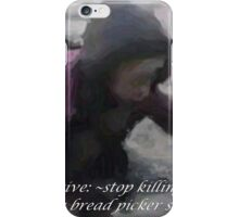 ~bread picker~ (snippet) iPhone Case/Skin