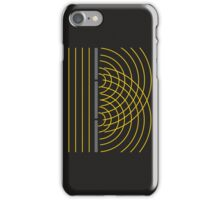 Double Slit Light Wave Particle Science Experiment iPhone Case/Skin