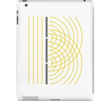 Double Slit Light Wave Particle Science Experiment iPad Case/Skin