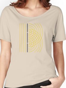 Double Slit Light Wave Particle Science Experiment Women's Relaxed Fit T-Shirt