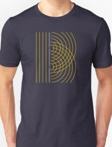Double Slit Light Wave Particle Science Experiment Unisex T-Shirt