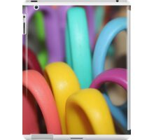 Rainbow Scissors  iPad Case/Skin