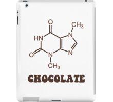 Scientific Chocolate Element Theobromine Molecule iPad Case/Skin