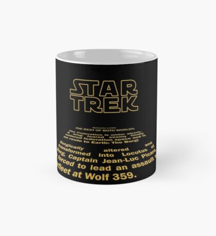 Star Trek / Wars Parody Mug Mug