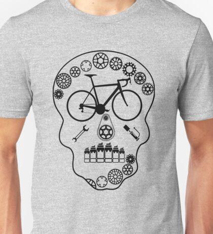 Cog Skull (Transparent) Unisex T-Shirt