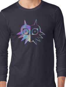 Majora's Mask Half Color Long Sleeve T-Shirt