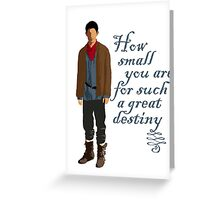 Great Destiny (light) Greeting Card