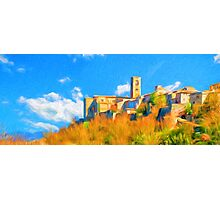 Colle Di Val D'Elsa, Tuscany, Italy Photographic Print