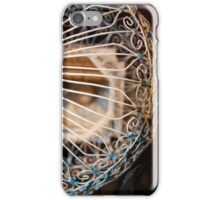 White Bird Cage iPhone Case/Skin