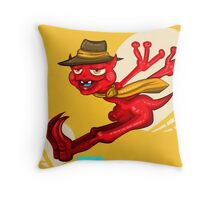 Mr Who Throw Pillow