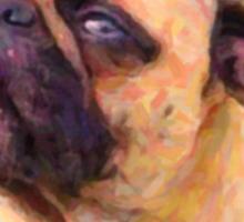 pug 2 Sticker