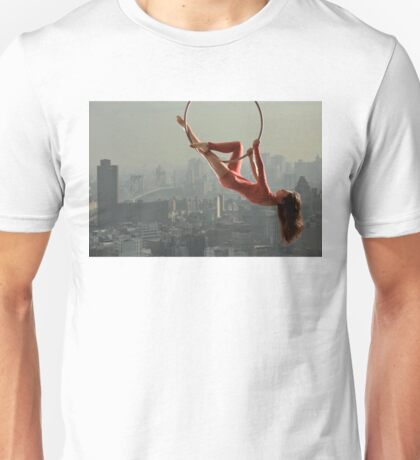 Acrobatics over New York Unisex T-Shirt