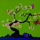 An Oriental Tree for Tim  by Anne Gitto
