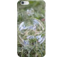 Bubble on Cut Grass iPhone Case/Skin