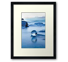 Blue crystal II Framed Print