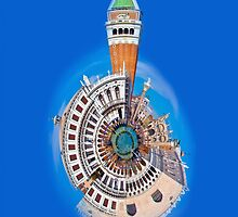 San Marco Little Planet [iPhone Case] by dunawori