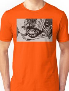 Still life with dried flowers Unisex T-Shirt