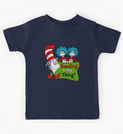 official read across america day Kids Tee