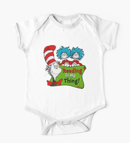 official read across america day One Piece - Short Sleeve