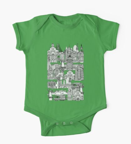 San Francisco green One Piece - Short Sleeve