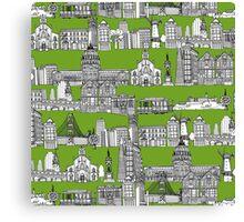 San Francisco green Canvas Print