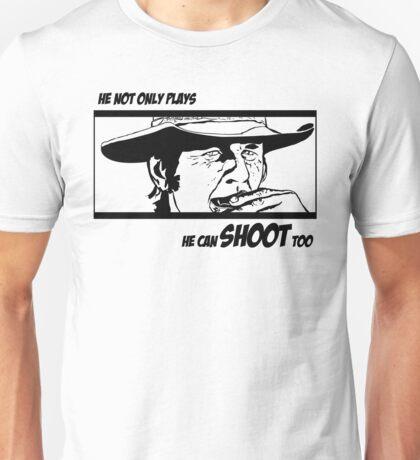 Charles Bronson, he can shoot too Unisex T-Shirt