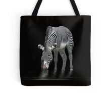 The Zebra and The Mill Pond Tote Bag