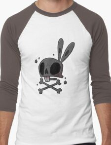 Bunny - Skull Men's Baseball ¾ T-Shirt