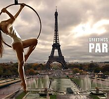 Greetings from Paris by Carnisch