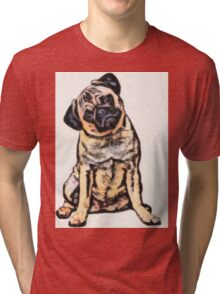pug 16 Tri-blend T-Shirt