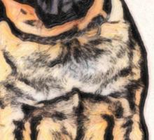 pug 16 Sticker