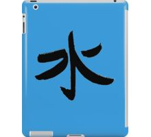 Water - Kanji iPad Case/Skin