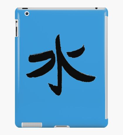 Water - Kanji iPad Case/Skin