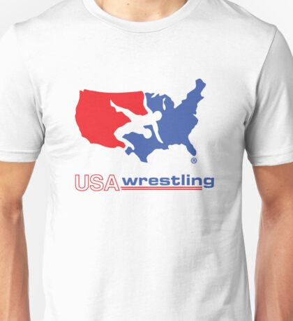 USA wrestling Unisex T-Shirt