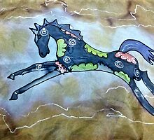 Leaping horse by ExceptionalSilk