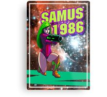 Samus 1986 Metal Print