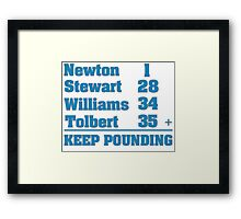 Newton-Stewart-Williams-Tolbert Framed Print