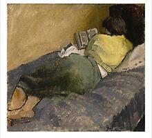 Helen Reading by Gordon Snee
